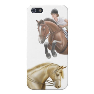 At the Horse Show iPhone Case iPhone 5/5S Case