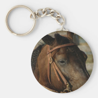 At the Horse Show Key Chains
