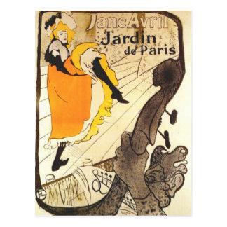 At the Jardin de Paris Post Cards