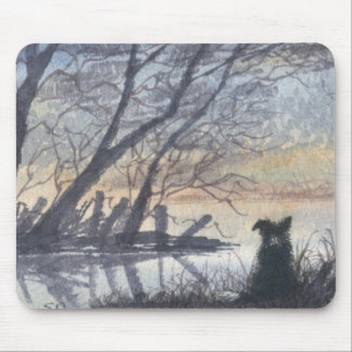 At the lake mouse mat