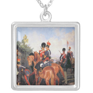 At the Mile Stone, 1859 Silver Plated Necklace