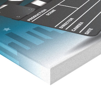 At the movies gallery wrap canvas
