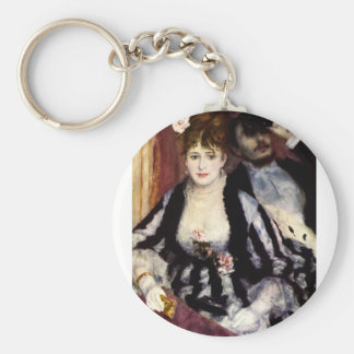 At the Opera Basic Round Button Key Ring