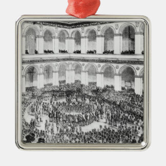 At the Paris Bourse, 1846 Christmas Ornament