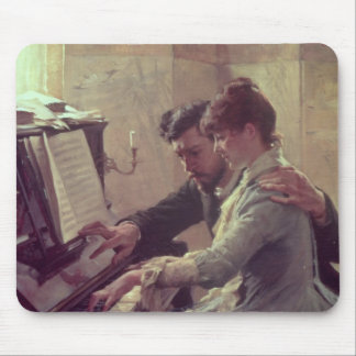 At the Piano Mouse Mat