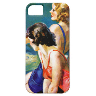 At the Pool iPhone 5 Cases