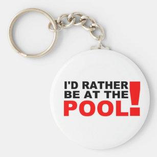 Pool Boy Key Rings & Keychains | Zazzle UK