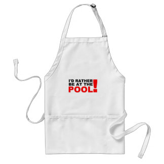 At the pool standard apron