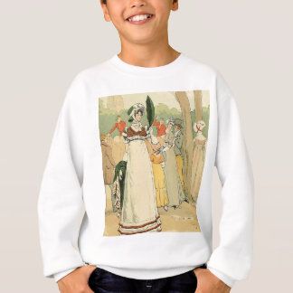 At the races on the Champ de Mars Sweatshirt