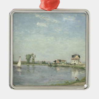 At the River's Edge, 1871 Christmas Ornament