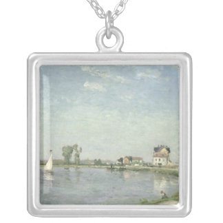 At the River's Edge, 1871 Silver Plated Necklace