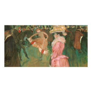 At the Rouge: The Dance by Toulouse-Lautrec Photo Greeting Card