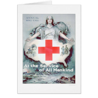 At the Service of All Mankind (US00262) Greeting Card
