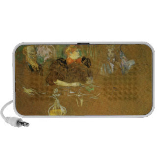 At the table by Toulouse-Lautrec Travelling Speaker