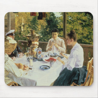 At the Tea-Table, 1888 Mouse Mat