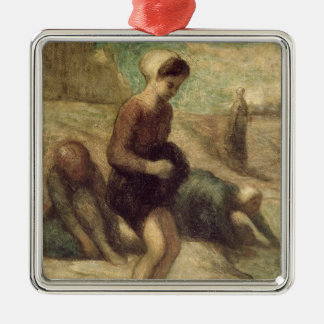 At the Water's Edge, c.1849-53 Christmas Ornament