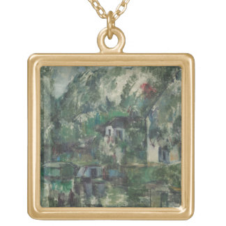 At the Water's Edge, c. 1890 (oil on can Pendant