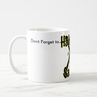 At 'X' Halt and Salute Basic White Mug