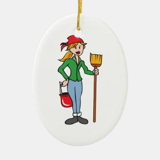 AT YOUR SERVICE CHRISTMAS ORNAMENT