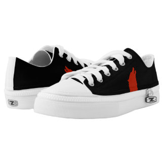 ATABECK Zipz Low Top Shoes Printed Shoes