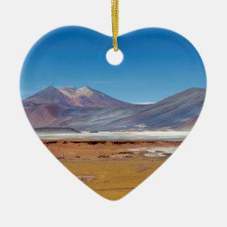 Atacama salt lake christmas ornament