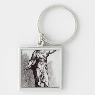 Atalanta, c.1653 key ring