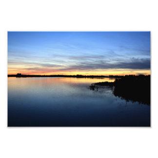 Atardecer y puesta de sol en la laguna de El Rocío Impresiones Fotograficas