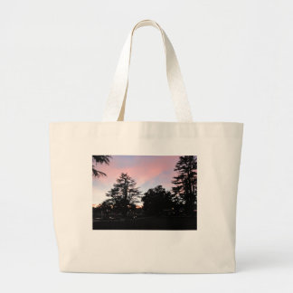 Atascadero Sunken Gardens at Sunset Canvas Bag