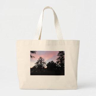 Atascadero Sunken Gardens at Sunset Canvas Bag