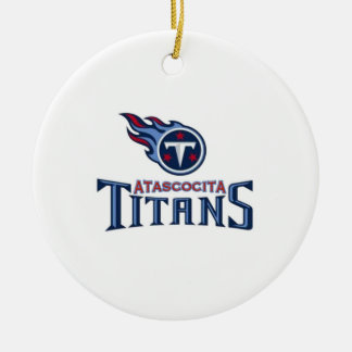 Atascocita Titans Youth Football Ornaments