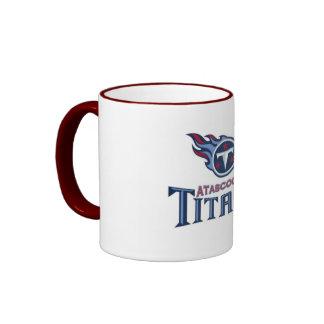 Atascocita Titans Youth Football Ringer Mug