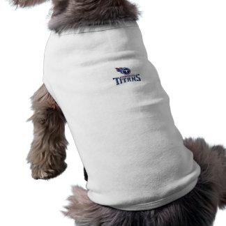 Atascocita Titans Youth Football Sleeveless Dog Shirt