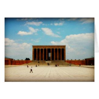 Ataturk Memorial in Ankara Card