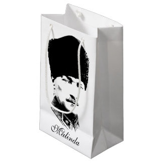 Ataturk Personalized Small Gift Bag