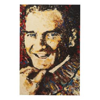 Atatürk Wood Wall Art Wood Print