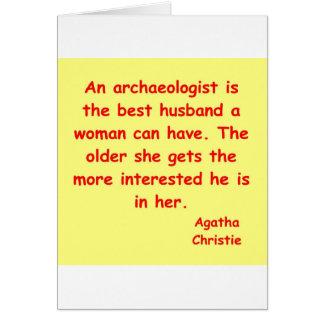 atchaeologist husband card