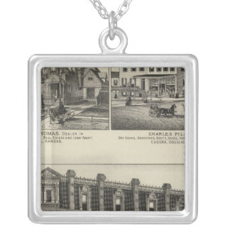 Atchison, Kansas Silver Plated Necklace