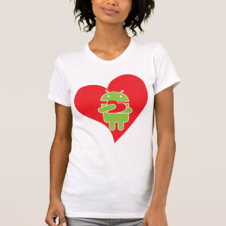 Ate my heart Android T-Shirt