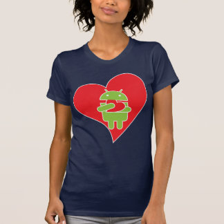 Ate my heart Android T-shirts