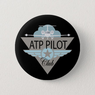ATF Pilot Club 6 Cm Round Badge