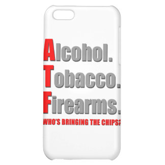 ATF- Who's bringing the chips? iPhone 5C Case