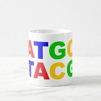 ATGC nucleus bases of nucleobases Coffee Mugs