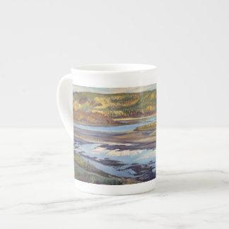 Athabasca Evening - bone china mug