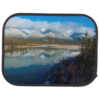 Athabasca River, Jasper National Park, Alberta Car Mat