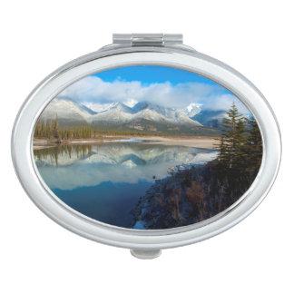 Athabasca River, Jasper National Park, Alberta Compact Mirrors
