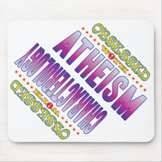 Atheism 2 Obsessed Mouse Pad
