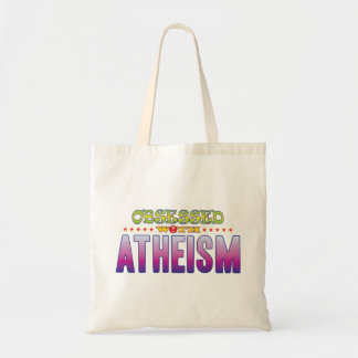 Atheism 2 Obsessed Budget Tote Bag