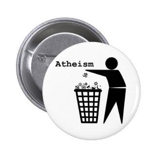 Atheism 6 Cm Round Badge