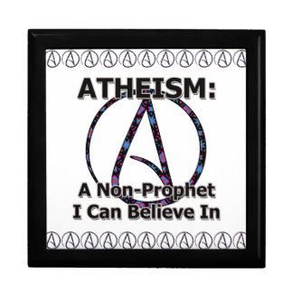 Atheism: A Non-Prophet I Can Believe In Jewelry Box