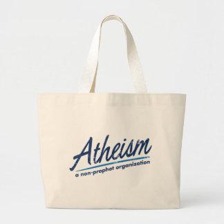 Atheism a non-prophet organization tote bag